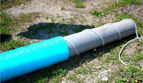 Утепление канализационных труб своими руками 155