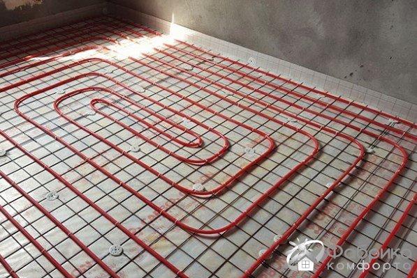 Тепла підлога равлик: поради по укладанню