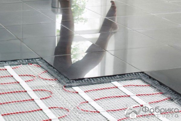 Тепла електрична підлога: розхід електрики