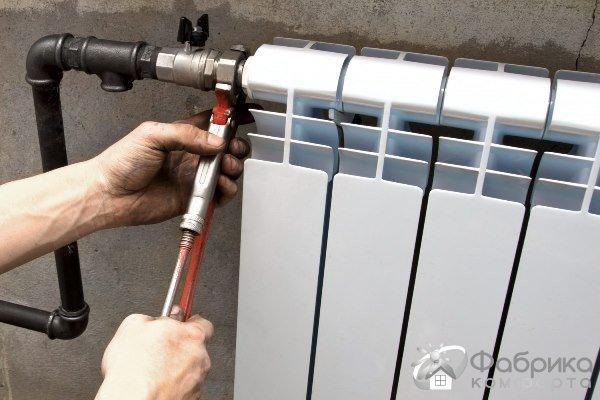 Як зняти радіатор опалення правильно