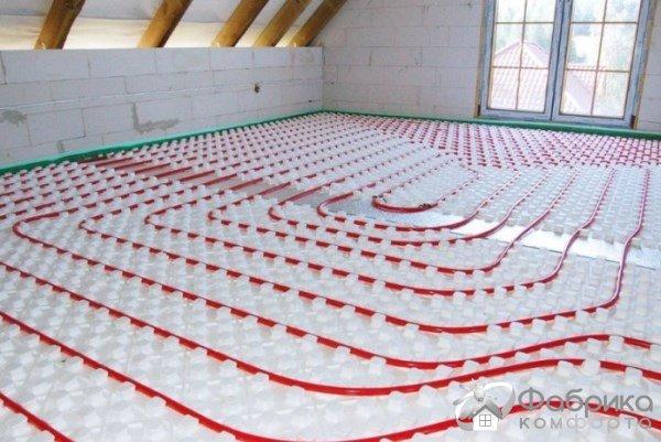Тепла підлога Кнауф: плюси і мінуси