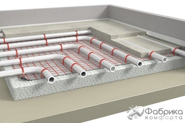 Пиріг теплої підлоги: різні варіанти