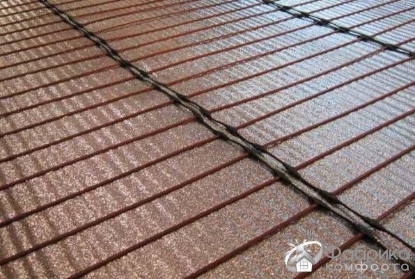 Тепла підлога з вуглецевого волокна