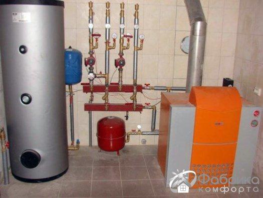 Газовий котел на зрідженому газі