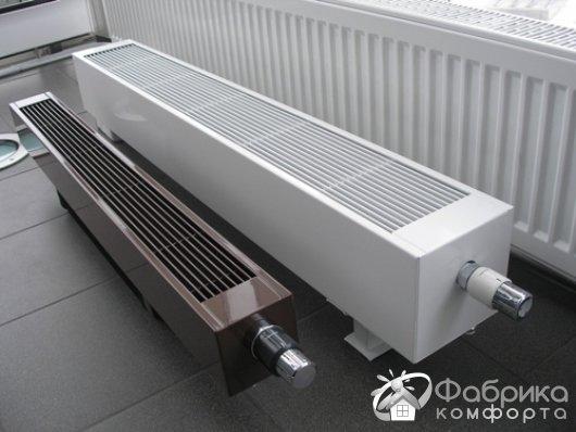 Який підлоговий радіатор вибрати