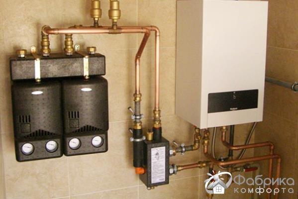 2 контурний газовий котел: переваги та недоліки