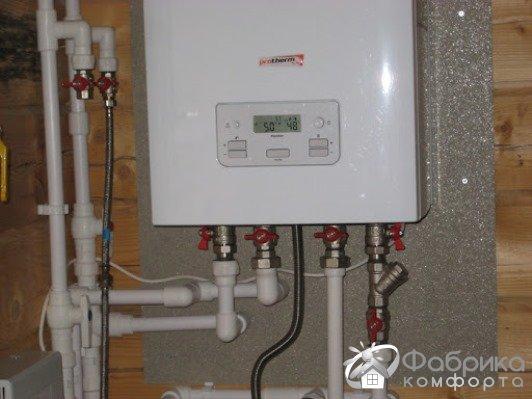 Газовий котел для опалення і гарячого водопостачання - критерії вибору