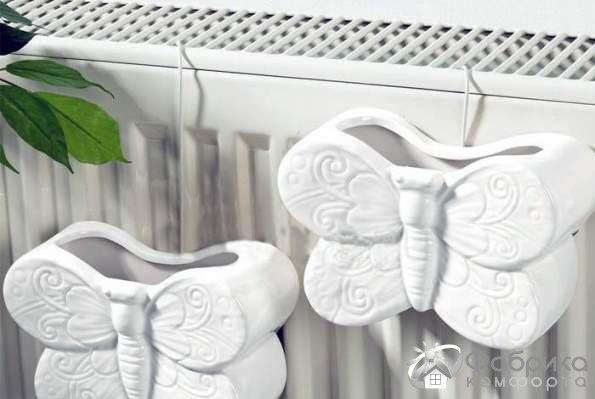 Зволожувач повітря на батарею - різновиди, позитивні і негативні сторони