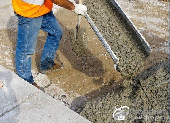 Противоморозные добавки (на основе натрия) для бетона