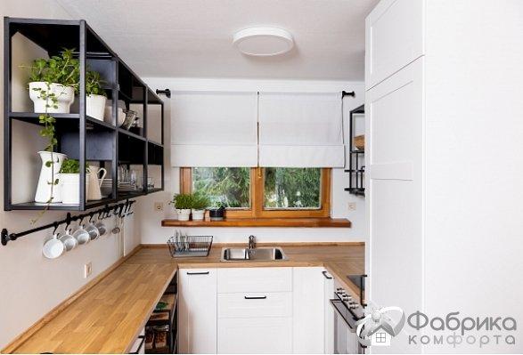 Маленькая кухня тоже может быть функциональной