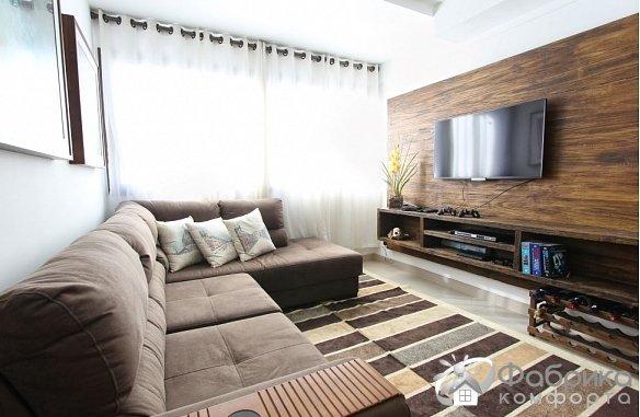 Телевизор в интерьере дома – эффектно и стильно
