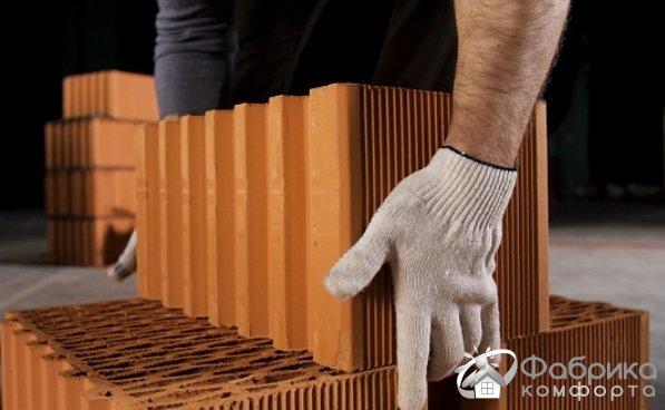 Керамические блоки: свойства и использование в строительстве